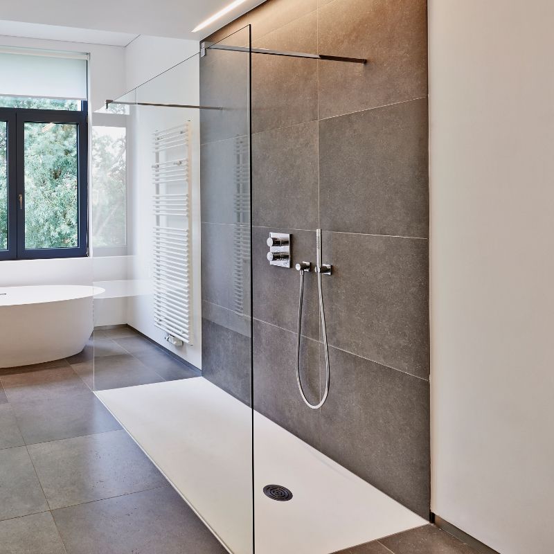 Badsanierung Dusche